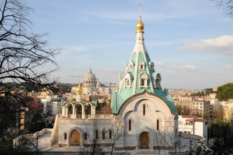 православное венчание в Риме