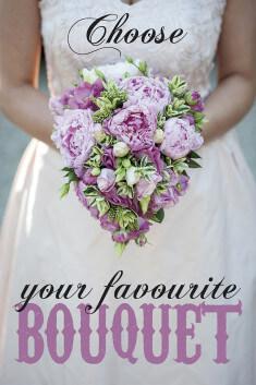 Выбери свой свадебный букет