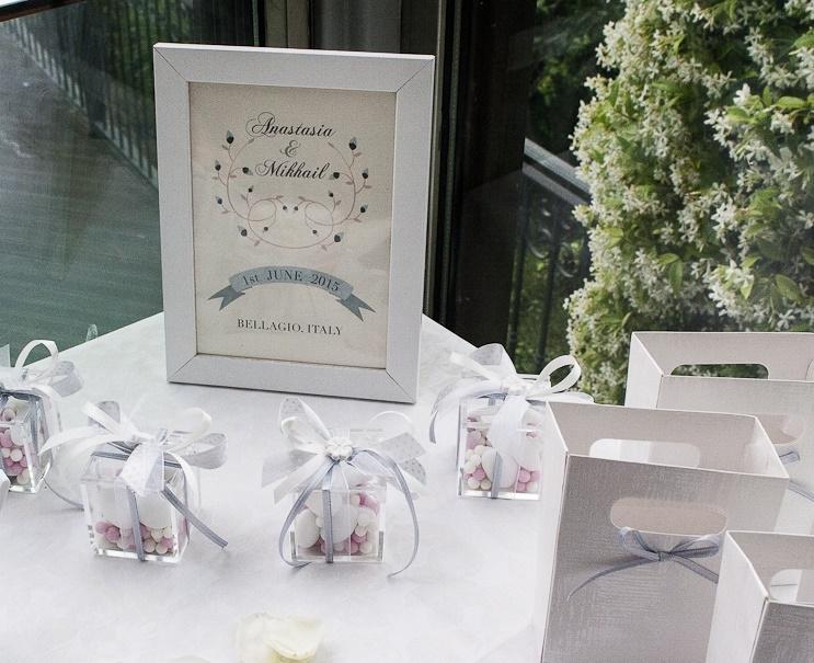 Свадебные бонбоньерки (Bomboniere)