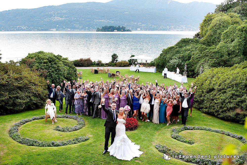 свадьба на озере Маджоре