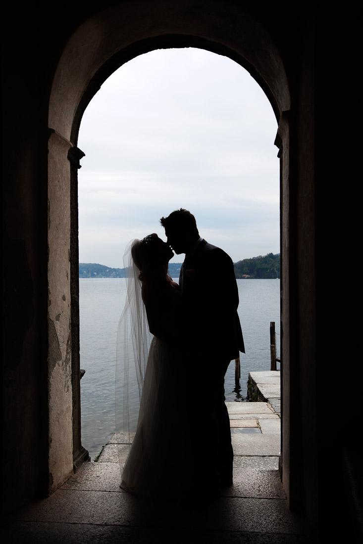 Свадьба на озере Орта