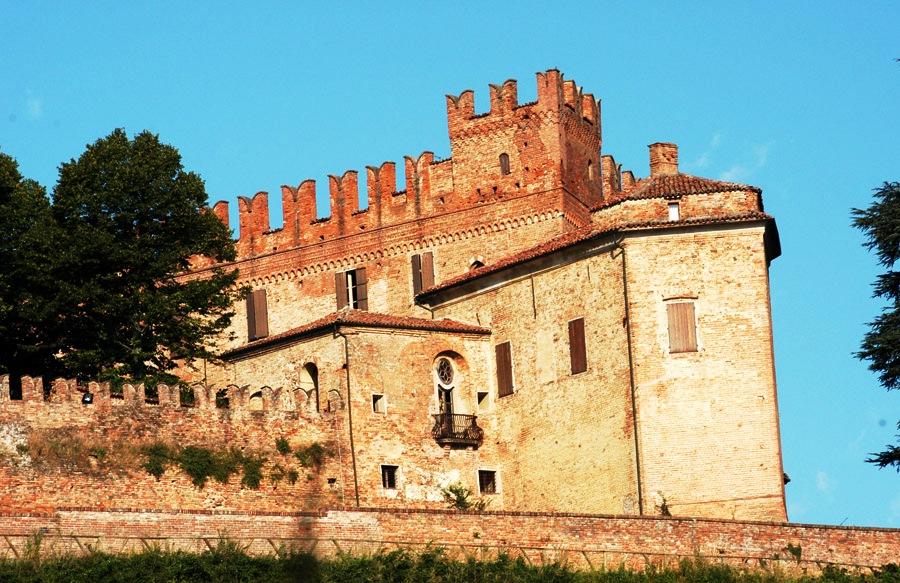 Символическая церемония в средневековом замке