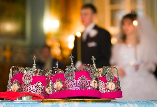 Венчание в Риме — храм Святой Екатерины