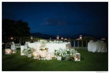 Свадьба на вилле на берегу озера Маджоре