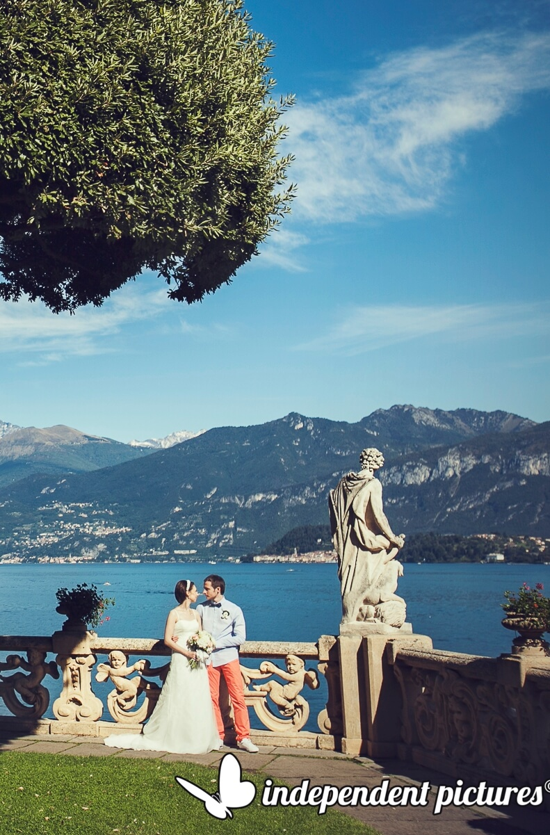 Официальная свадьба в Италии Михаила и Алины