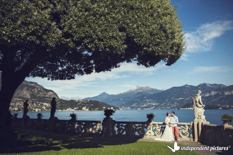 свадьба на озере Комо с агентством Bacio Italiano