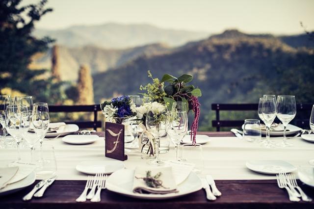 Свадьба в стиле «кантри» в Италии