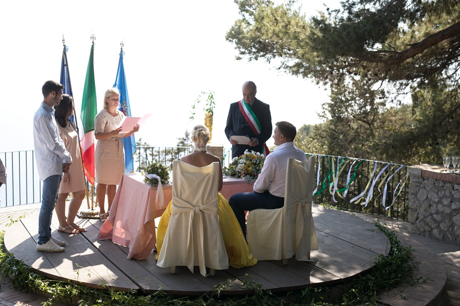 svadba na Kapri