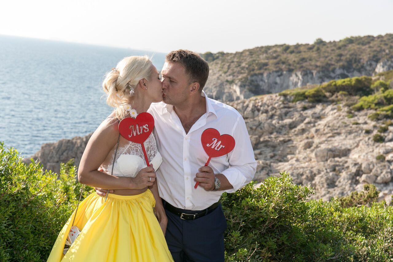 свадьба на Капри