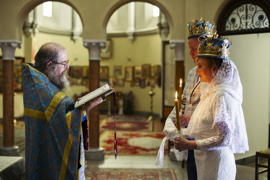 Православное венчание в Италии