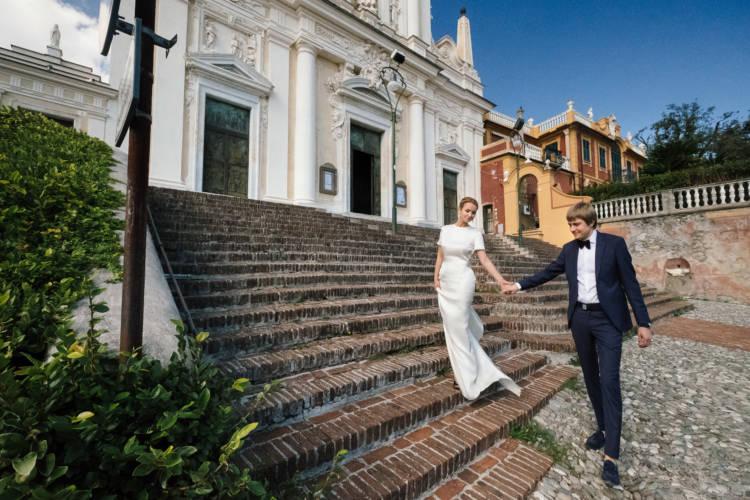 svadba na more Bacio Italiano