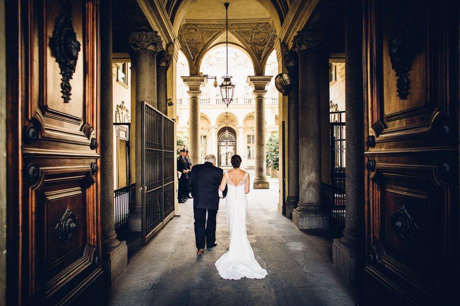 Официальная свадьба в Турине